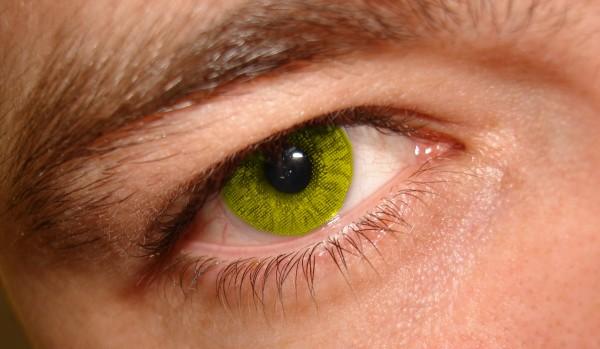 high tech contact lens